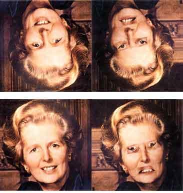 Эффект Тэтчер. иллюзии, обман зрения, эффект тэтчер,
